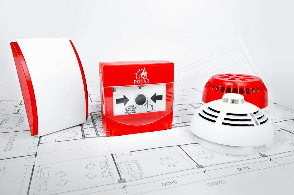 System sygnalizacji pożaru